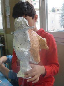 Marionnettes réalisées par les enfants