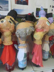 Marionnettes du théâtre de Guignol