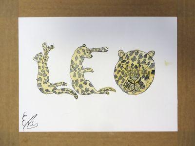 Le dessin de Enis, 11 ans.