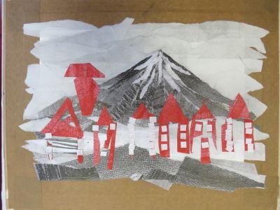 La ville au pied du volcan