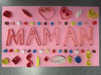 Quilling MAMAN