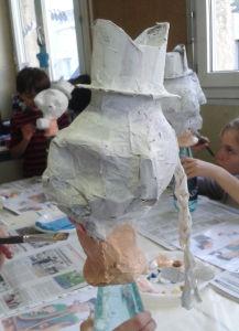 Fabriquer sa marionnette en papier mâché