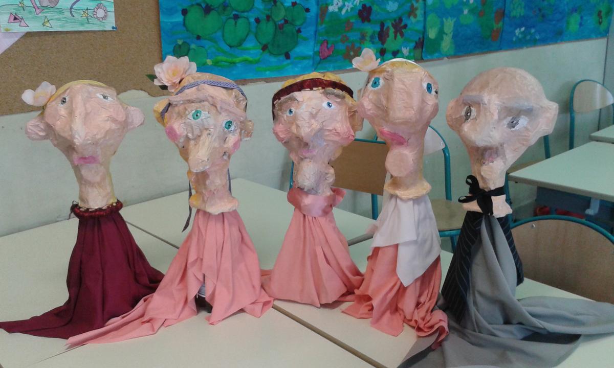 Fabriquer des marionnets à partir de déchets