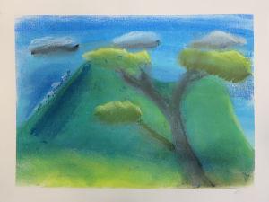 Apprendre à peindre un paysage au pastel sec