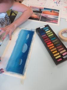 Apprendre à peindre à l'hôpital