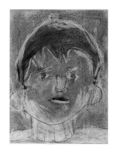 Portrait d'enfant de CP
