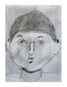 Autoportrait d'un enfant