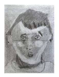 Auto-portrait d'enfant