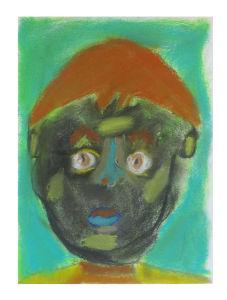 Autoportrait d'un enfant au CP