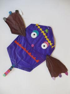 Cerf-volant inventé par un enfant