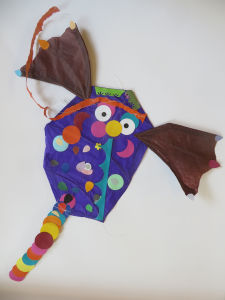 Cerf-volant clown