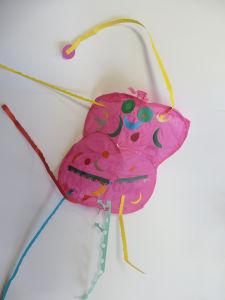 Papillon en papier de soie