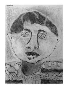 Portrait d'un enfant en CP