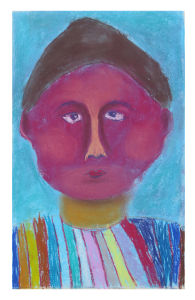 Peindre son portrait devant un miroir