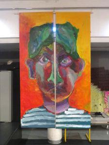 Portrait exprimant la colère