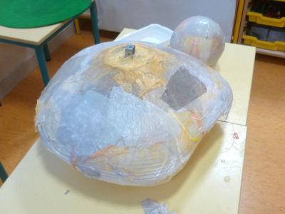 Papier de soie récupéré dans les boites à chaussures