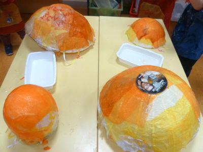Pétales oranges