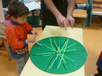 Intervention artistique à la maternelle