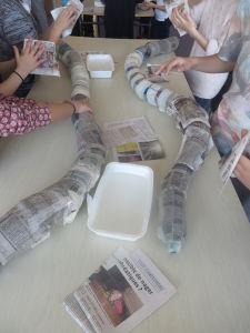 Créer en volume avec du papier mâché
