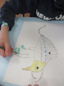 Le dessin de Matthieu, 11 ans