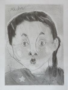 L'autoportrait de Aïcha 8 ans