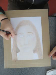 Peindre son portrait à l'aquarelle