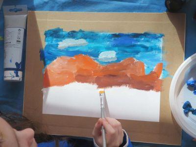 Atelier créatif avec les enfants