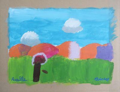 Paysage en couleur
