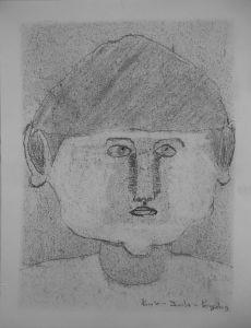 Autoportrait de garçonnet