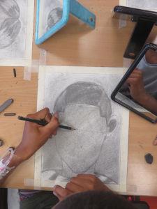Dessin au crayon à papier