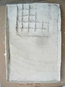 Fragment de grille imprimé