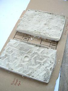 Plaques de plâtre sèches
