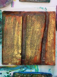 Empreinte de veinage de bois