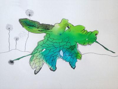 Le dessin de Magali