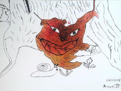 Le dessin de Benaya
