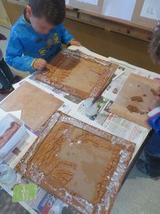 Création à l'école