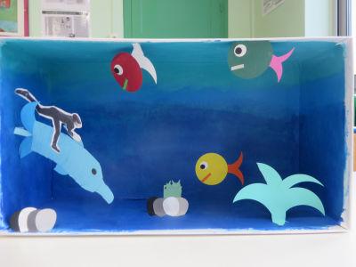 Nager avec les dauphins ...