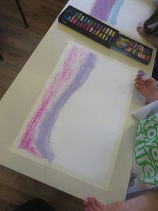 Peindre un paysage au pastel