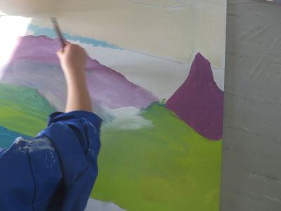 Réaliser un dégradé en peinture