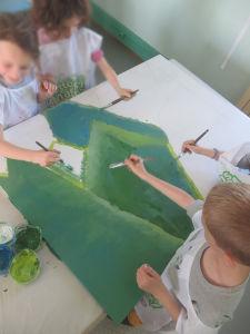 Peindre dans la joie