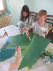 Peindre le premier plan