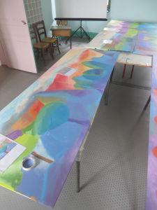 Un projet de fresque à l'école élémentaire