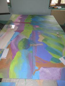 Grand paysage coloré