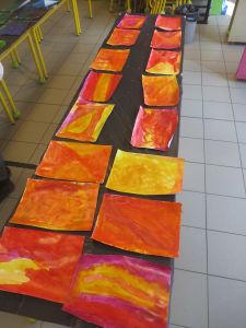 Fabriquer ses papiers colorés