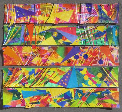 Cinq collages sélectionnés