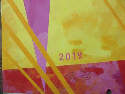 Fresque peinte en 2019