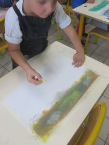 Interventions artistiques auprès des enfants