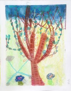 Dessiner un arbre au Printemps