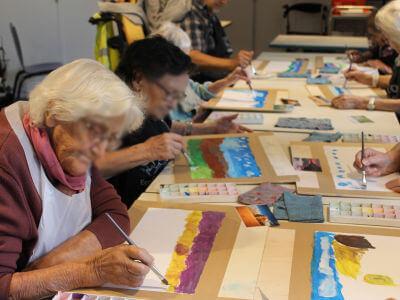 Créer un paysage à la peinture
