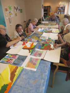 Une oeuvre participative à l'hôpital de Belleville
